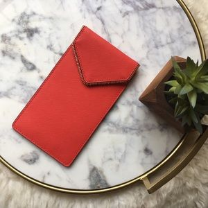 Rebecca Minkoff•Single Ladies Red Leather Pouch